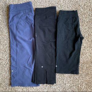 3 Pair Bundle Lululemon Legging Sz 10